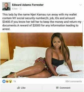 White man cries out after African lover absconds with his money,shares her photo
