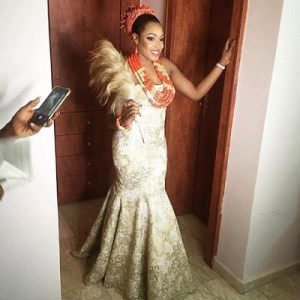 Chris Uba's daughter wed