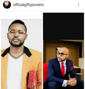 Gifty apologises to Banky W and Falz,Banky W replies