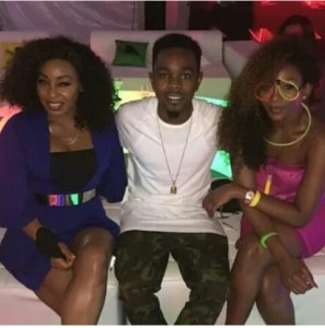 , Check out this stunning photo of Patoranking with Genevieve and Rita Dominic, Effiezy - Top Nigerian News & Entertainment Website
