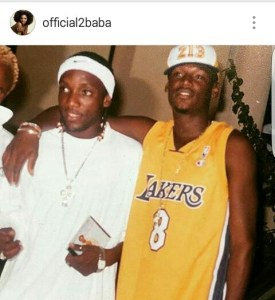 Tuface Idibia shares throwback picture of himself and colleague,Kcee