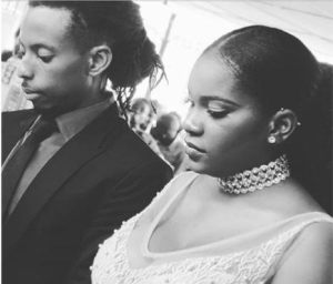 Musical producer,LeriQ weds his fiancee Michelle.