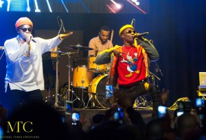 Watch: Runtown thrill his fans in London for his Valentine concert (Photos + Videos)