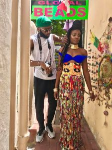 Swanky Jerry styles Seyi Shay for her upcoming video shoot