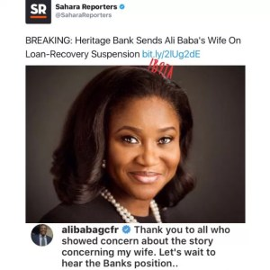 King of comedy,Alibaba reacts to his wife's rumored suspension