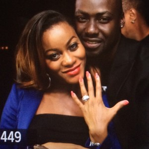 Damilola Adegbite and Chris Attoh are rumored to be heading for a divorce