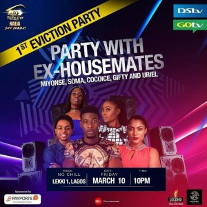 BBNaija- Kemem's name missing from the other evicted housemates party list
