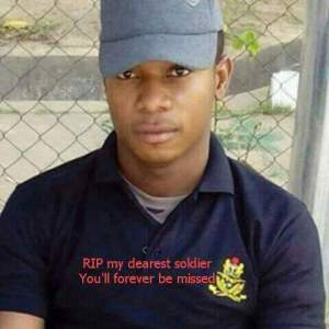 Young Nigerian Airforce man perish in an accident