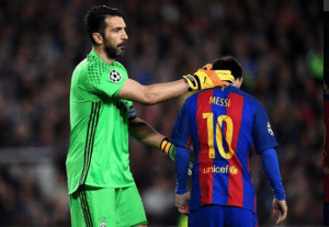 Juventus knock Barcelona out of the Champions League