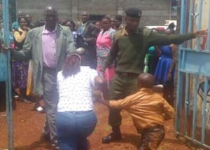 Lady storms wedding with two kids to disrupt the occassion