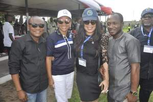 , Ibinabo Fiberesima and Monalisa Chinda at Rivers State at 50 event, Effiezy - Top Nigerian News & Entertainment Website