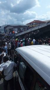Graphic photos- Dangote truck kill 7 in Anambra