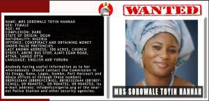 EFCC declare man and woman wanted for fraud