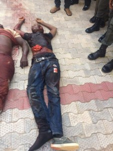 Very Graphic pics- Kidnappers killed in Anambra