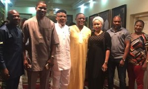, East meets West- Nnamdi Kanu dines with FFK at his Abuja home, Effiezy - Top Nigerian News & Entertainment Website