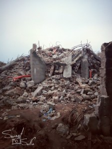 Three storey building in Port Harcourt collapses