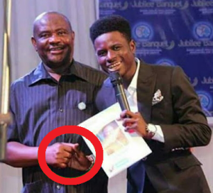 """The  """" handshake"""" that did Governor Wike in"""