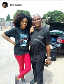 Omoni Oboli writes an ode to her father whose funeral is today