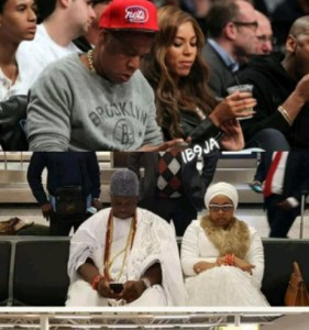 , Wuraola Ogwunsi plays a 'Beyonce' on Ooni of Ife, Effiezy - Top Nigerian News & Entertainment Website