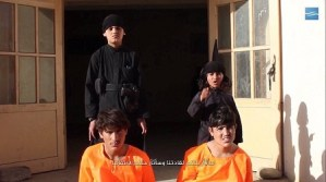 Unbelievable: Young children are forced to shoot prisoners