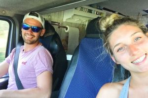 Globe-trotting couple quit jobs and travel round the world