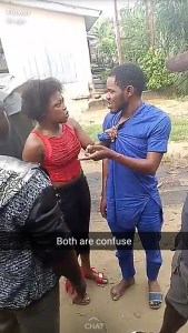 Nigerian man disgraced publicly over failure to pay prostitute after 'service' (Photos)