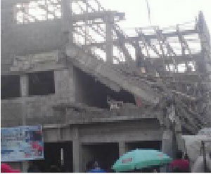 Many injured as another building collapses in Lagos