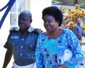 Ex-Minister turns herself in as EFCC releases her lawmaker 'Surety' from detention (Photo)