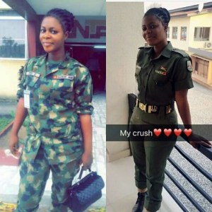 Photos of this hot Nigerian female soldier will leave you drooling