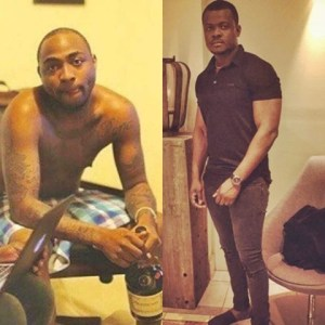 How Davido narrowly escaped being beaten while His crew members suffer black eyes in London club (Photos)
