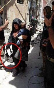 Female 'suicide bomber' blows up herself and her baby (Photo)
