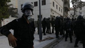 Morocco police fire tear gas as protesters defy govt ban
