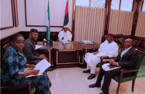 Buhari receives briefing on Nigeria's economy from Ministers, CBN Governor, expresses satisfaction [PHOTOS]
