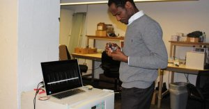 Nigerian Agabi makes drones that smell bombs
