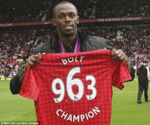 World fastest man, Usain Bolt to play for Manchester United… See details