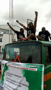 Charly Boy shuts down Benue with 'Our Mumu Don Do' rally (Photos)