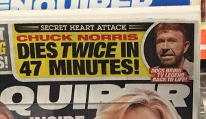 Hollywood actor, Chuck Norris nearly dies after suffering TWO heart attacks in just minutes!