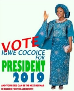 Ex- Big Brother housemate contesting for 2019 Presidency