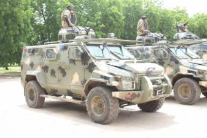 See photos of the mobile strike force launched by the Nigerian Army to destroy Boko Haram