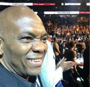 Tony Elumelu was Also in Vegas to watch Mayweather Vs Mcgregor fight [Photo/video]