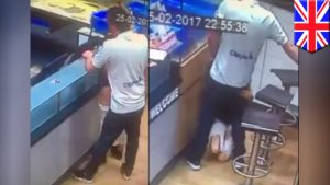 Couple who had sex inside Dominos Pizza shop to face prison (Photos)