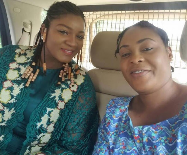 ", Omotola Jalade on set of ""Shadow Parties"" with Sola Kosoko, Saidi Balogun, Effiezy - Top Nigerian News & Entertainment Website"