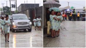 Wonderful!!! 10 Virgins Welcome Pastor To Church In A Unique Way In Port Harcourt (Photos)