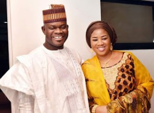 Governor Yahaya Bello welcomes a baby boy with his third wife