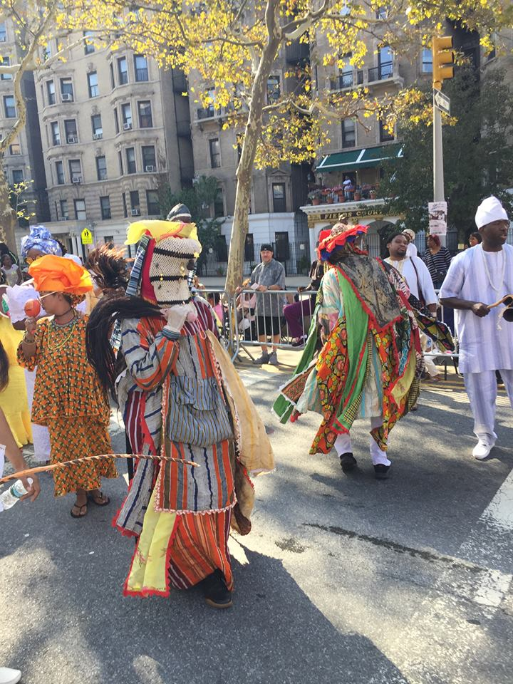 , Yoruba Community Take To The Streets Of New York As Buhari Lands In US, Effiezy - Top Nigerian News & Entertainment Website