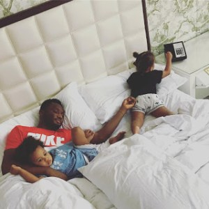 Mikel Obi celebrates his twin daughters 2nd Birthday