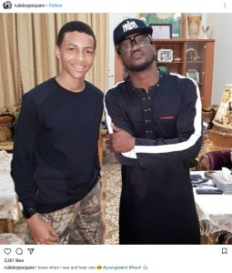 Paul Okoye announces new artiste to his Rudeboy Records Label (Photo)