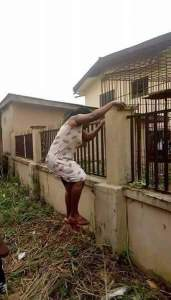 , Mother climbs school fence in Anambra to collect her kid over Monkeypox rumors, Effiezy - Top Nigerian News & Entertainment Website
