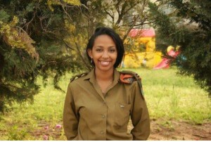 AMAZING: Meet Lieutenant Toby Cohen The First And Only Nigerian Woman To Serve In Israel's Army.