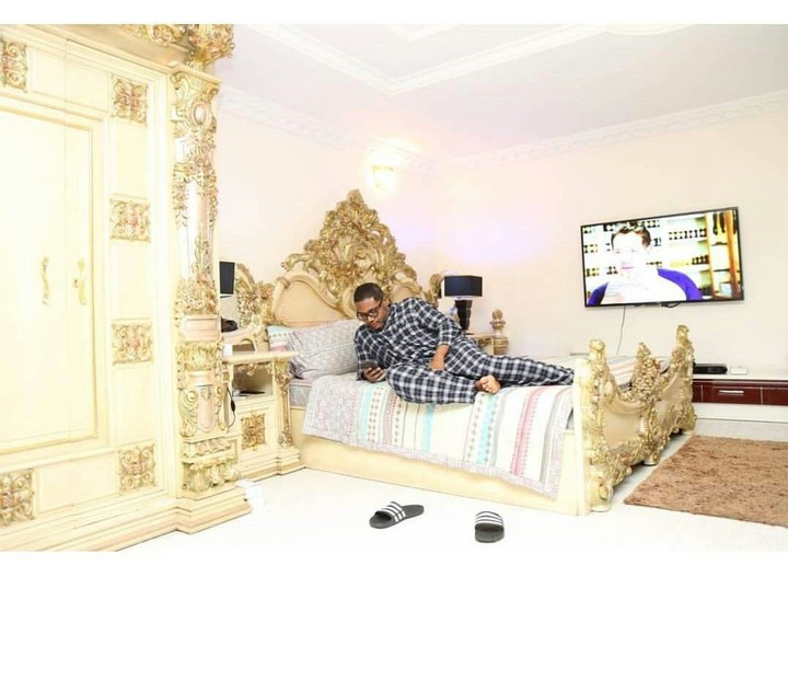 , E-money shows off his bedtime routine in new photos, Effiezy - Top Nigerian News & Entertainment Website